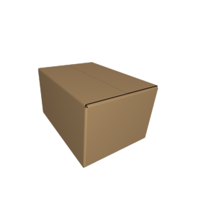 Коробка 4-ёх клапанная fefco 201 CUTCNC.RU