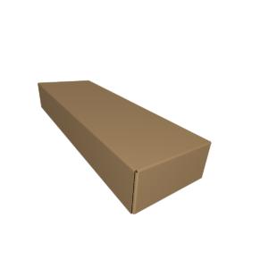 Телескопическая коробка крышка-дно из гофрокартона fefco 300 CUTCNC.RU